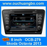 Wholesale Ouchuangbo stereo satnavi car kit S100 Skoda Octavia 2013-2015 with USB 1080P Czech map from china suppliers