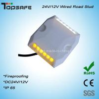 Wholesale Dia 5mm LED Plastictunnel LED Wired Road Stud from china suppliers