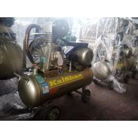 China Industrial Piston Rings Type Air Compressor For Sandblasting 0.75kw / 1hp Motor on sale