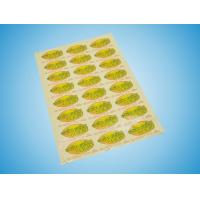 Quality Waterproof Blank Direct Thermal Adhesive Label / Sticker for sale