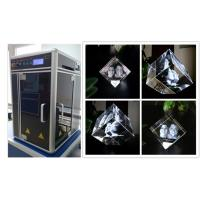 Wholesale Glass Crystal 3D Laser Engraving Machine , Cost - Effective 3D Laser Engraving System from china suppliers