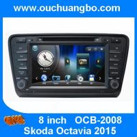 Wholesale Ouchuangbo car dvd radio navigation system Skoda Octavia 2015 support iPod BT phonebook fa from china suppliers