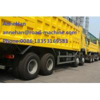 Wholesale 40T 8X4 Heavy Dump Truck With HAVY Front Liifting EuroII 50km/h for Construction Transport from china suppliers