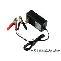 China Intelligent 12V Sealed Lead Acid Battery Charger With Alligator Clips on sale
