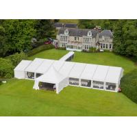 Wholesale Portable Wedding Party Tent , Outdoor Heavy Duty Marquee Tent 15 X 20 Meter from china suppliers