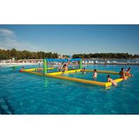 Wholesale Durable Inflatable Water Games / Sports Equipment Volleyball Area from china suppliers