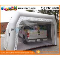 China PVC Tarpaulin Inflatable Party Tent Paint Spray Booth Inflatable Car Wash Tent on sale