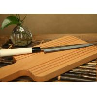 Wholesale Hot Treatment Chef Japanese Sushi Knife For Restaurant / Home Kitchen Use from china suppliers