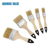China 31143 Natural Fiber Paint Brush 38-44mm Length Out For Water - Borne Coatings on sale