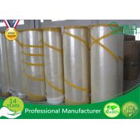 Quality High Strength BOPP Film and Water-based Acrylic BOPP Jumbo Rolls For Carton Package for sale