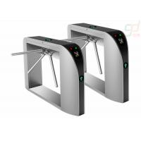 Wholesale Fingerprint Security Waist Height Turnstile Attendance Railway Station Barrier from china suppliers