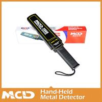 China MCD-2008 New Security wand cheap Portable body weapon super scanner detector Hand held Metal detector on sale