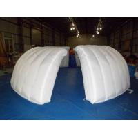 Inflatable Exhibition Clamshell building dome for sale