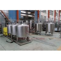 China Small Liquid Beer Bottle Capping Machine Tea Drink And Alcohol Filling for sale