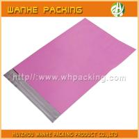 Wholesale 2016 High quality hdpe/ldpe pink color poly mailers bag with seal-adhesive from china suppliers