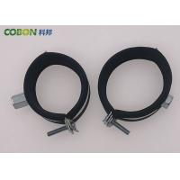 Professional Galvanized Round  Pipe Clamp Brackets Rubber Pipe Clips for sale