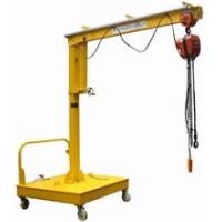 China Movable Motorized Rotation Jib Cranes For Position A Load on sale