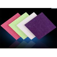 Wholesale Industrial Polyester Felt Fabric Sheets , Recycled Coloured Felt Fabric from china suppliers