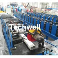 Wholesale Downspout Machine / Suqure Tube Cold Roll Forming Machine for Making Rectangular Tube from china suppliers