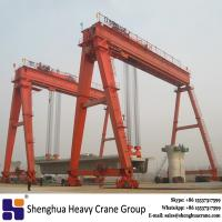 China Double beam gantry crane 32 ton 35 ton for railway road construction for sale