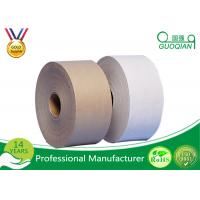 Wholesale Logo Printed Reinforced Gummed Kraft Paper Tape 70CM Width Strong Viscosity from china suppliers