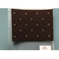 Wholesale 800 Gsm Weight Chestnut Non Woven Needle Punch Felt With Flower Dots Backing from china suppliers