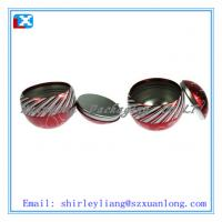 Wholesale Christmas ball shaped tin box from china suppliers