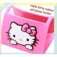 Wholesale Hello Kitty series soft pvc phone holder from china suppliers