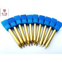China High Hardness Carbide Router Bits Precise Engraving ISO9001 Approved on sale