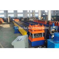 Buy cheap Gear Box Drive Twice Wave Guardrail Roll Forming Machine PLC Control from wholesalers