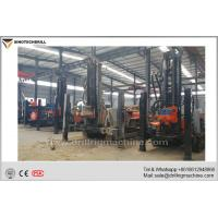 Wholesale Crawler Mounted Borehole Drilling Rig With Support Legs 140 - 325mm Hole Diameter from china suppliers