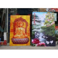Wholesale UV flatbed printer or inkjet printer large size 3d poster large format lenticular advertising poster 3d flip printing from china suppliers