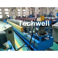 Wholesale PLC Control System Cold Roll Forming Machine For Making Rainwater Gutter Roll Forming Machine from china suppliers