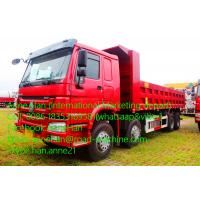 Wholesale 60T 8 X 4 Heavy Duty Dump Truck With 30Cubic bucket and Front lifting of HOWO7 from china suppliers