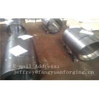 Wholesale Normalized Forged metal sleeve Rough Turned ST52-3 S355J2G3 P355GH from china suppliers