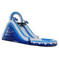 Buy cheap Commercial Hifht Quality mini inflatable water slide for sales from wholesalers