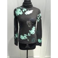 Wholesale Floral Print Womens Cashmere Sweaters Breathable Various Design from china suppliers