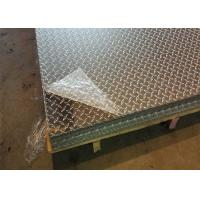 Wholesale 5052 H32 Aluminum Diamond Plate Thickness Custom For Commercial Vehicles from china suppliers