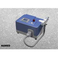 China Portable Q - Switch ND Yag Laser Tattoo Removal Machine For All Color Tattoo Skin Type on sale