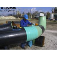 China Blue / green Visco elastic pipeline coating , anti corrosive tape and paste for flange on sale