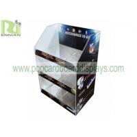 China Small Counter Acrylic Display Stands 3 - Tier PS Material Customized SGS Approval for sale