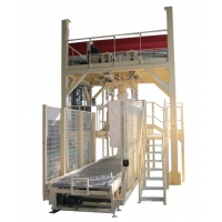 Wholesale 60Bags/H 7.5KW Weighing FIBC Carbon Black Packing Machine from china suppliers