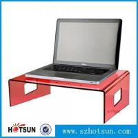 Quality wholesale custom factory price clear acrylic laptop stand for sale
