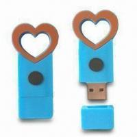 Wholesale USB Flash Drives with Cartoon Shape Color Printing and Cover Cap, 56.5 x 27.5 x 18mm Size from china suppliers