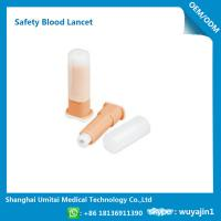 Wholesale Easy Handling Disposable Blood Lancet For Blood Sugar Less Pressure Powder from china suppliers