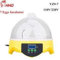 China Poultry egg incubator mini 7 chicken quail eggs with CE Approved for sale YZ9-7 on sale