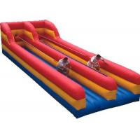 Wholesale Inflatable Interactive Games Outdoor Double Lane Inflatable Bungee Run Hire from china suppliers