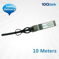 Wholesale 10G SFP+ Copper direct-attached Twinax cable 10 Meters, Active (CAB-10GSFP-A10M) from china suppliers