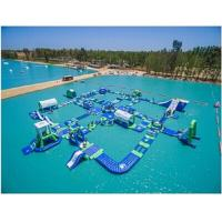 Wholesale Giant Adult Inflatable Water Park Commercial Inflatable Water Fun For Lake from china suppliers