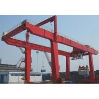 2019 Various Styles 5Ton Mobile Double Girder Container Gantry Crane For 20' 40' Container for sale